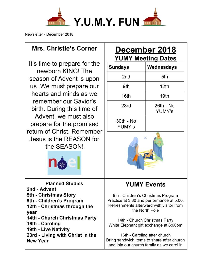 December 2018 -1